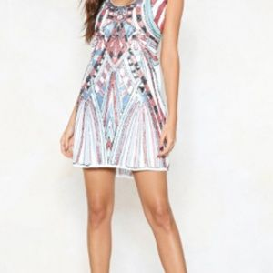 Racerback Tank Sequin Dress
